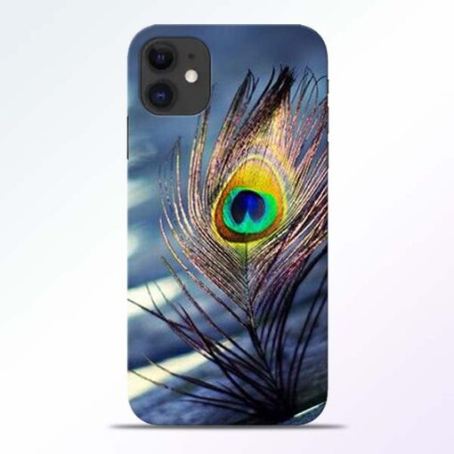 Krishna More Pankh iPhone 11 Mobile Cover
