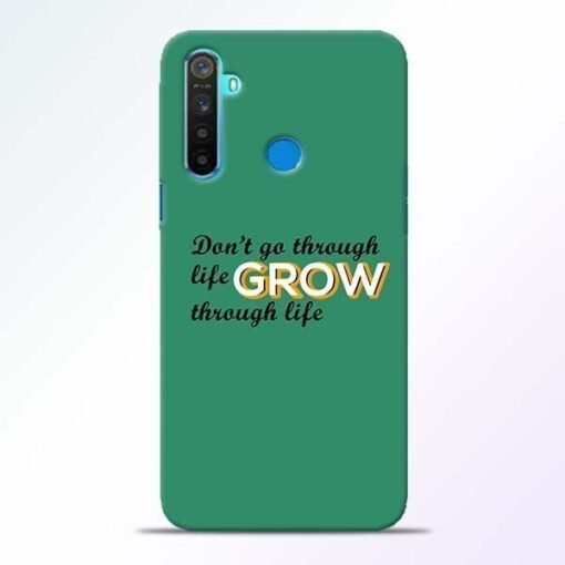 Life Grow Realme 5 Mobile Cover