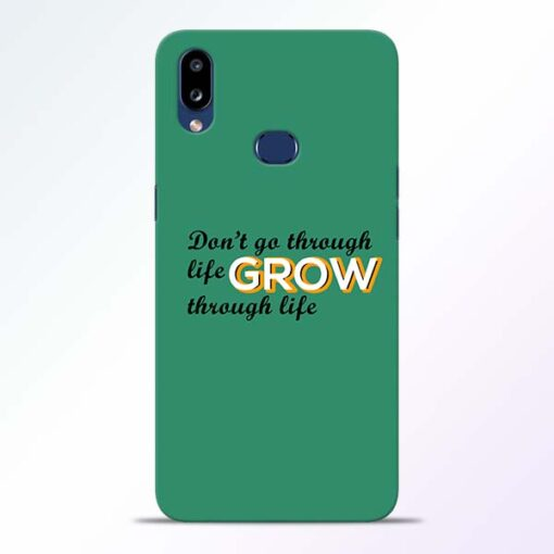 Life Grow Samsung Galaxy A10s Mobile Cover