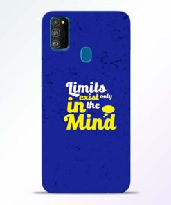Limits Exist Samsung Galaxy M30s Mobile Cover
