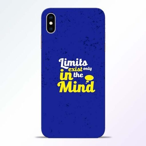 Limits Exist iPhone XS Max Mobile Cover