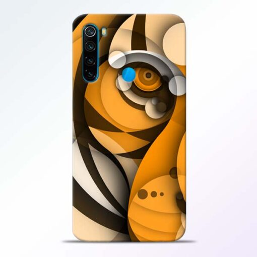 Lion Art Redmi Note 8 Mobile Cover - CoversGap