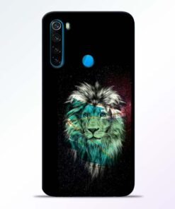 Lion Print Redmi Note 8 Mobile Cover - CoversGap