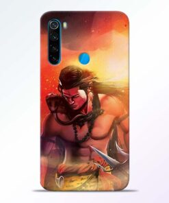 Lord Mahadev Redmi Note 8 Mobile Cover