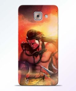 Lord Mahadev Samsung Galaxy J7 Max Mobile Cover