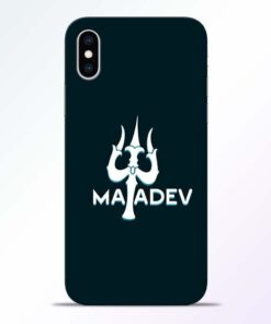 Lord Mahadev iPhone XS Mobile Cover