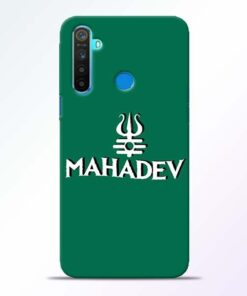 Lord Shiva Trishul Realme 5 Mobile Cover