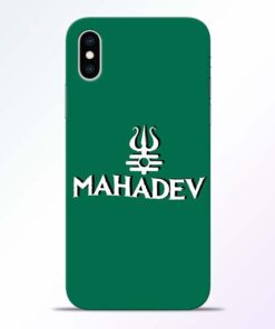 Lord Shiva Trishul iPhone XS Mobile Cover
