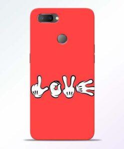 Love Symbol RealMe U1 Mobile Cover - CoversGap