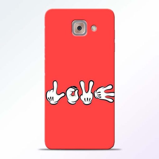 Love Symbol Samsung Galaxy J7 Max Mobile Cover