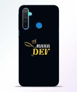 Mahadev Eyes Realme 5 Mobile Cover