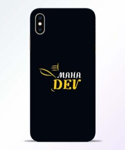 Mahadev Eyes iPhone XS Max Mobile Cover