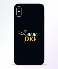 Mahadev Eyes iPhone XS Mobile Cover