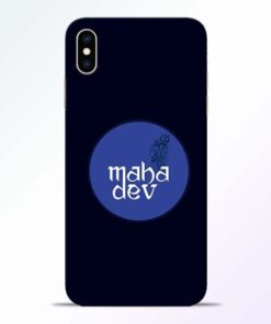 Mahadev God iPhone XS Max Mobile Cover
