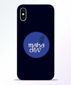 Mahadev God iPhone XS Mobile Cover
