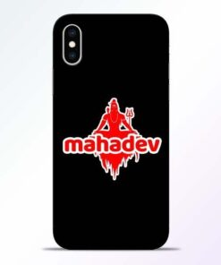 Mahadev Love iPhone XS Mobile Cover