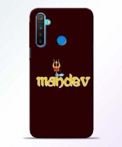 Mahadev Trishul Realme 5 Mobile Cover