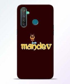 Mahadev Trishul Realme 5 Pro Mobile Cover
