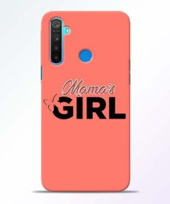 Mama Girl Realme 5 Mobile Cover