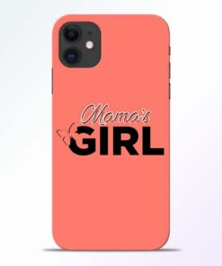 Mama Girl iPhone 11 Mobile Cover