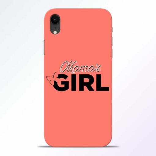 Mama Girl iPhone XR Mobile Cover