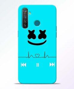 Marshmello Song RealMe 5 Pro Mobile Cover - CoversGap
