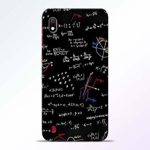 Math Lover Samsung A10 Mobile Cover - CoversGap