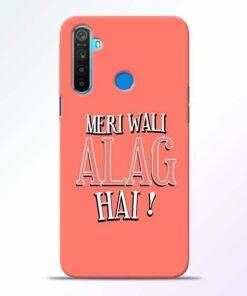 Meri Wali Alag Realme 5 Mobile Cover