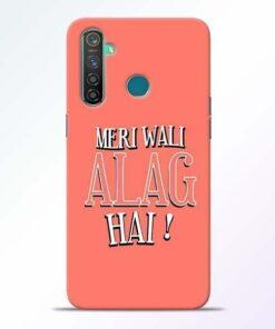 Meri Wali Alag Realme 5 Pro Mobile Cover