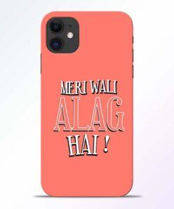 Meri Wali Alag iPhone 11 Mobile Cover