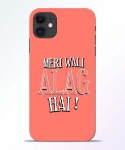 Meri Wali Alag iPhone 11 Mobile Cover