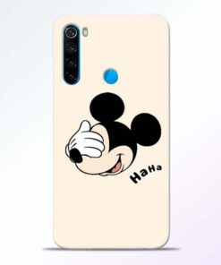Mickey Face Redmi Note 8 Mobile Cover - CoversGap