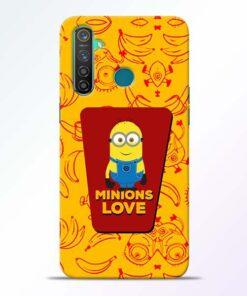 Minions Love Realme 5 Pro Mobile Cover
