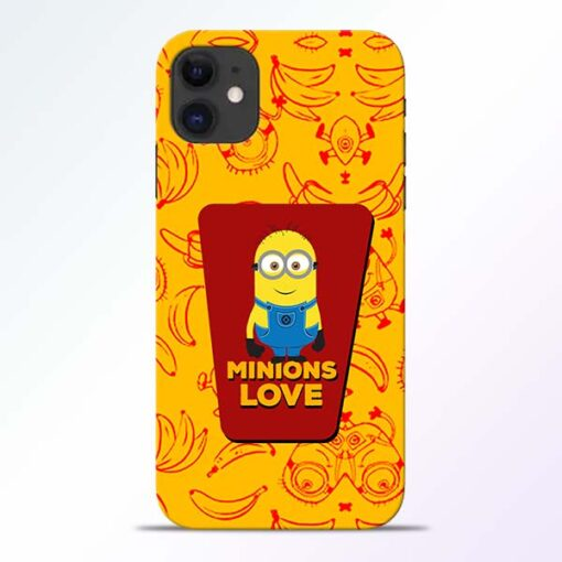Minions Love iPhone 11 Mobile Cover