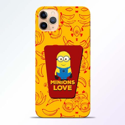 Minions Love iPhone 11 Pro Mobile Cover