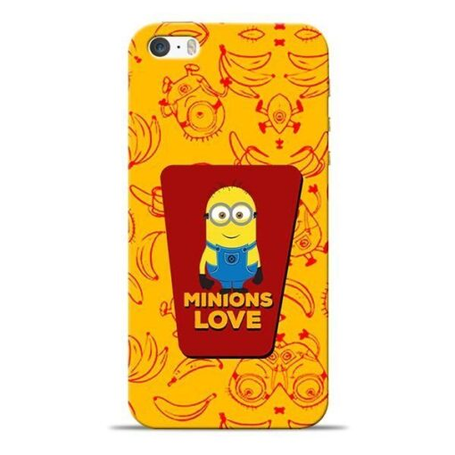 Minions Love iPhone 5s Mobile Cover