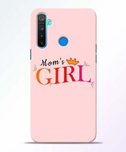 Mom Girl Realme 5 Mobile Cover