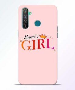 Mom Girl Realme 5 Pro Mobile Cover