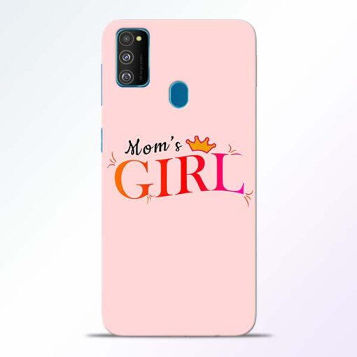 Mom Girl Samsung Galaxy M30s Mobile Cover