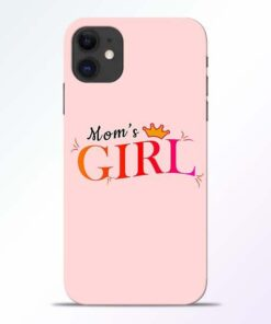 Mom Girl iPhone 11 Mobile Cover