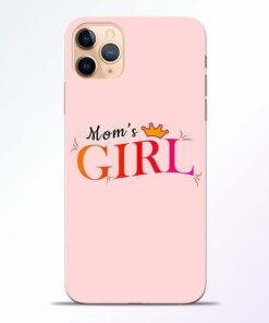 Mom Girl iPhone 11 Pro Mobile Cover