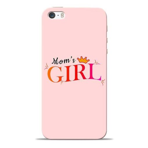 Mom Girl iPhone 5s Mobile Cover