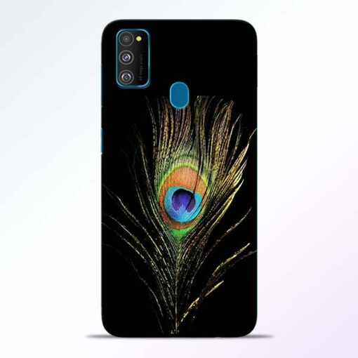 Mor Pankh Samsung Galaxy M30s Mobile Cover