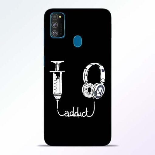Music Addict Samsung Galaxy M30s Mobile Cover