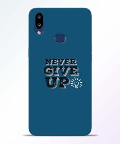 Never Give Up Samsung Galaxy A10s Mobile Cover