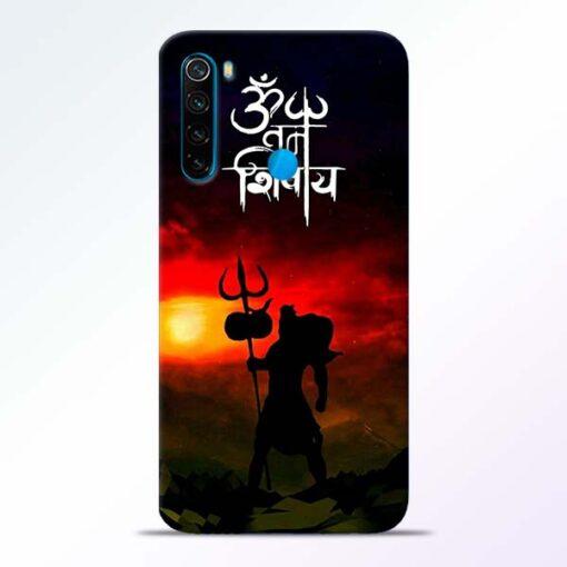 Om Mahadev Redmi Note 8 Mobile Cover