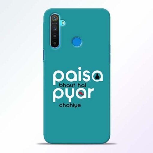 Paisa Bahut Realme 5 Mobile Cover