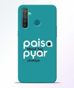 Paisa Bahut Realme 5 Pro Mobile Cover