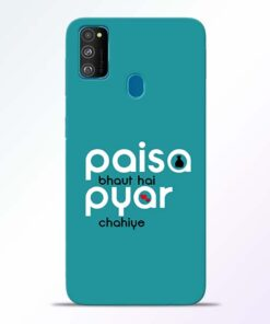 Paisa Bahut Samsung Galaxy M30s Mobile Cover