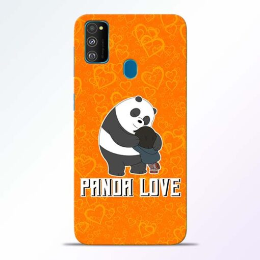 Panda Love Samsung Galaxy M30s Mobile Cover